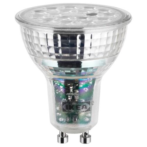 LEDARE LED-pære GU10 600 lumen varm dimming 600 lm 7.5 W