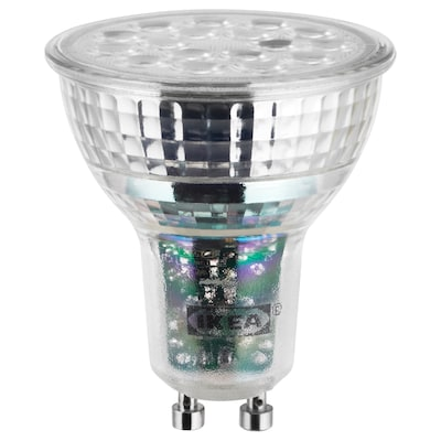 LEDARE LED-pære GU10 600 lumen, varm dimming