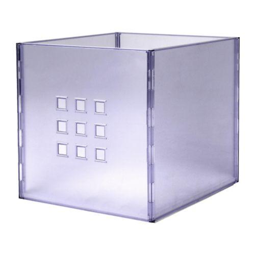 LEKMAN Kasse IKEA Denne boksen er perfekt til oppbevaring av alt fra aviser og tidsskrift til klær.