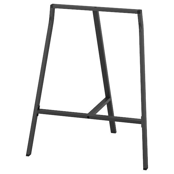 LERBERG Benbukk, grå, 70x60 cm