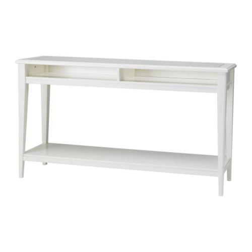 LIATORP Avlastningsbord IKEA Kan plasseres bak en sofa, langs en vegg eller brukes som romavdeler.