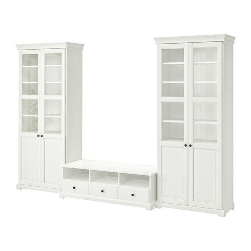 liatorp tv m bel kombinasjon ikea. Black Bedroom Furniture Sets. Home Design Ideas