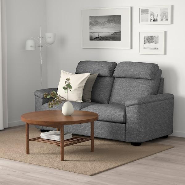 LIDHULT 2-seters sovesofadel, Lejde grå/svart