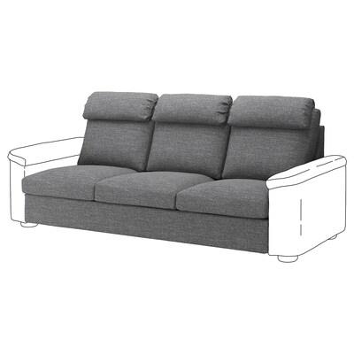 LIDHULT 3-seters modul, Lejde grå/svart