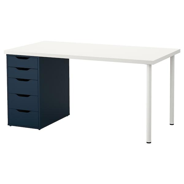 LINNMON ALEX Bord hvit IKEA