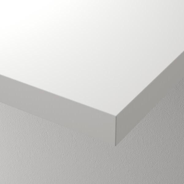 LINNMON Bordplate, hvit, 100x60 cm