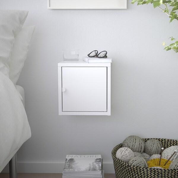 LIXHULT Skap, metall/hvit, 25x25 cm