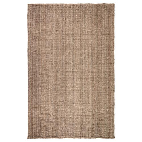 LOHALS teppe, flatvevd natur 300 cm 200 cm 13 mm 6.00 m² 3200 g/m²