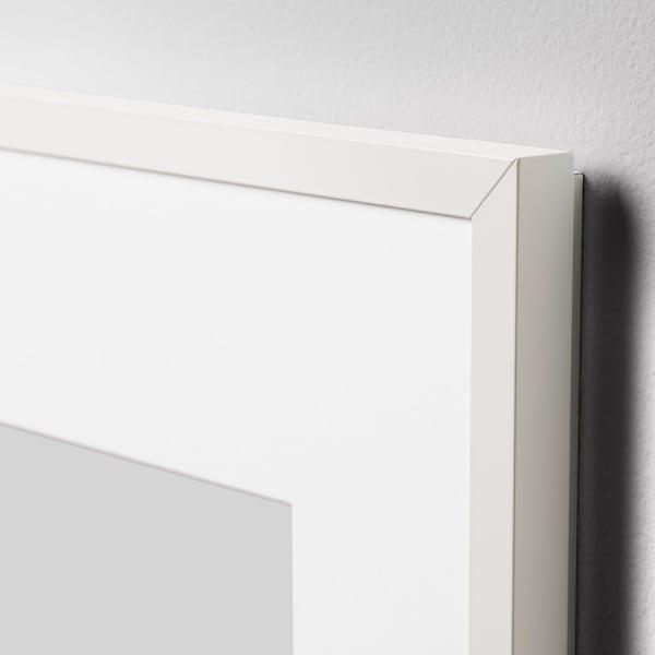LOMVIKEN Ramme, hvit, 21x30 cm