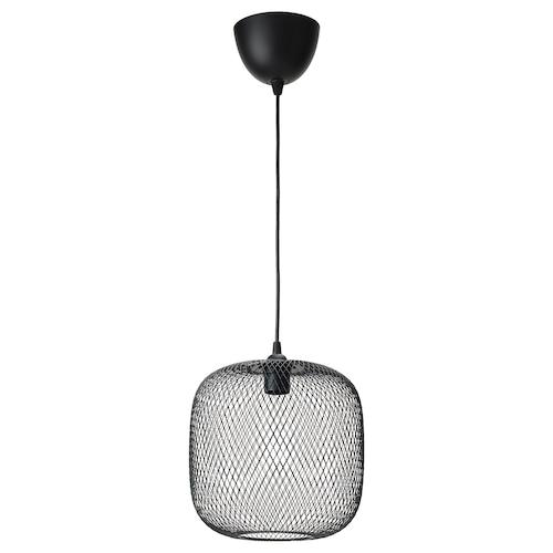 LUFTMASSA / HEMMA taklampe avrundet/svart 26 cm
