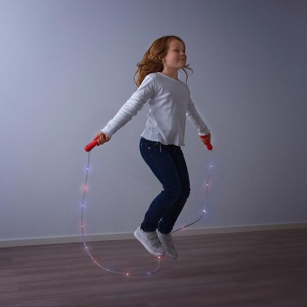 LUSTIGT Hoppetau med LED