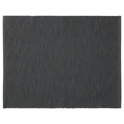 MÄRIT kuvertbrikke svart 45 cm 35 cm