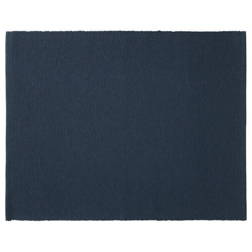 MÄRIT kuvertbrikke mørk blå 45 cm 35 cm