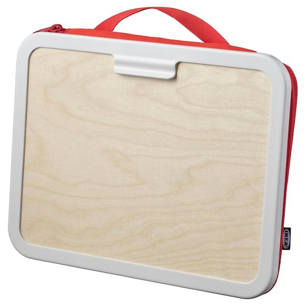 MÅLA Tegnekoffert, rød, 35x27 cm