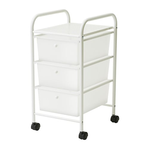MASJÖN Hylle med hjul IKEA
