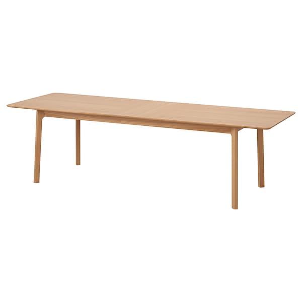 MELLANSEL Uttrekkbart bord, eikefiner, 220/270x95 cm