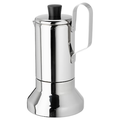 METALLISK Espressobrygger, rustfritt stål, 0.4 l