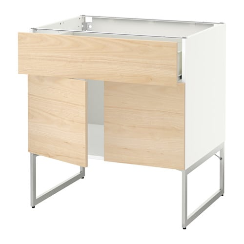 metod f rvara benkeskap m hyllepl skuff 2 d rer ikea. Black Bedroom Furniture Sets. Home Design Ideas