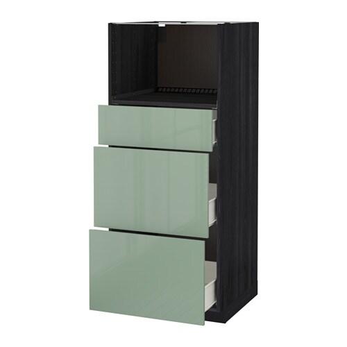 metod f rvara h yskap f mikro m 3 skuffer ikea. Black Bedroom Furniture Sets. Home Design Ideas