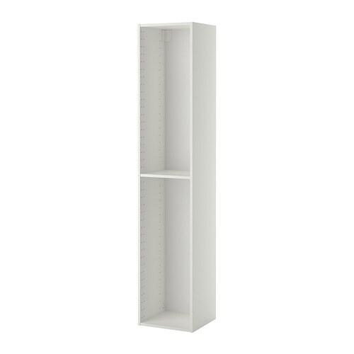 Metod h yskapstamme hvit 40x37x200 cm ikea for Ikea portascope