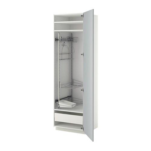 Ikea Kok Veddinge Gra :  med rengjoringsinnredning  hvit, Veddinge gro, 60x60x200 cm  IKEA