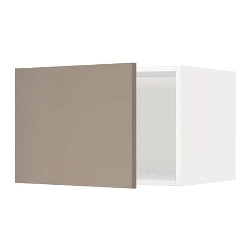 metod overskap til kj l frys hvit ubbalt m rk beige 60x40 cm ikea. Black Bedroom Furniture Sets. Home Design Ideas