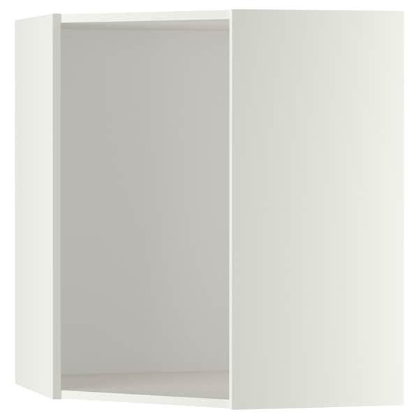 METOD Stamme til vegghjørneskap, hvit, 68x68x80 cm