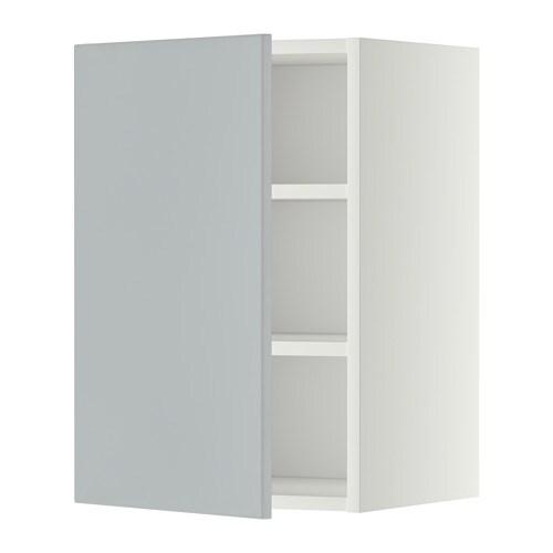 Ikea Kok Veddinge Gra : METOD Veggskap med hylleplater IKEA Du kan tilpasse avstanden etter