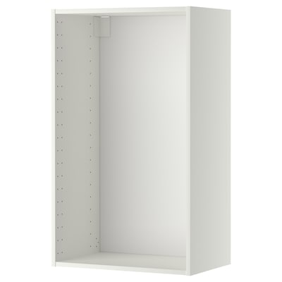 METOD Veggskapstamme, hvit, 60x37x100 cm
