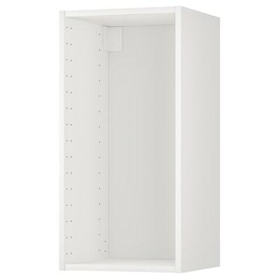METOD Veggskapstamme, hvit, 40x37x80 cm