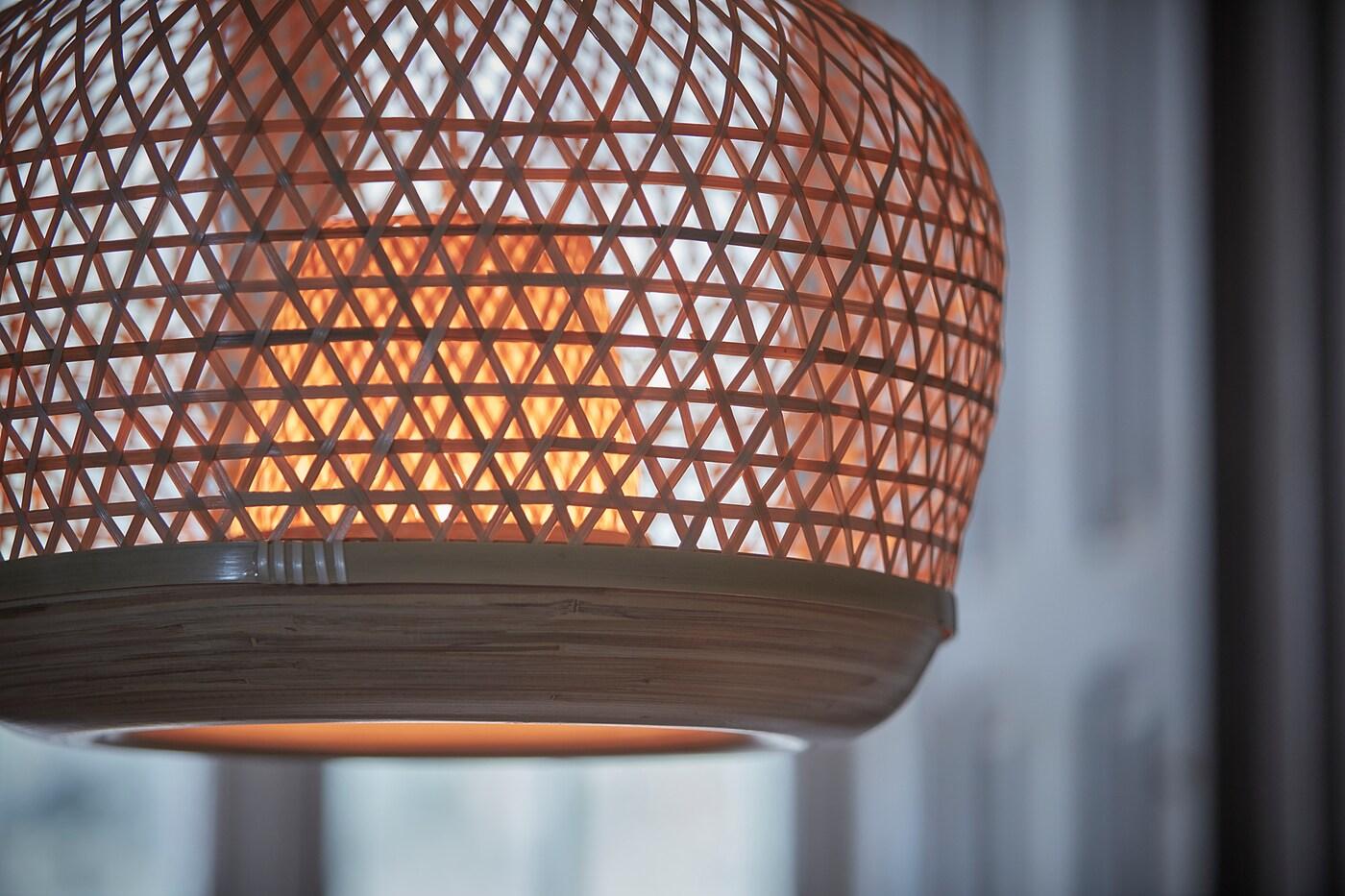 nonopmisterhult taklampe bambus