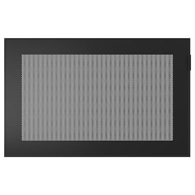 MÖRTVIKEN Dør, svart, 60x38 cm