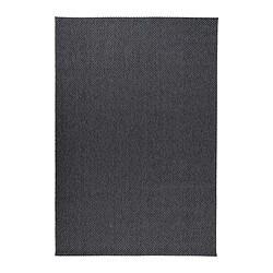 MORUM teppe, flatvevd, inne/ute mørk grå mørk grå