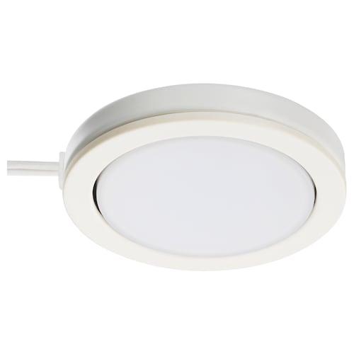 OMLOPP LED-spotlight hvit 65 lm 1 cm 6.8 cm 3.5 m 1.4 W