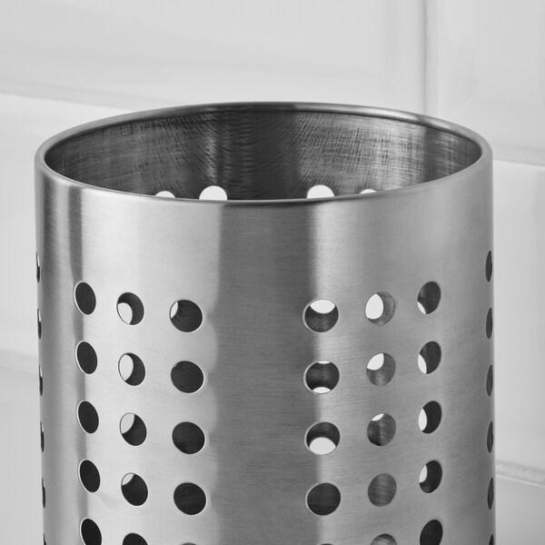 ORDNING Bestikkstativ, rustfritt stål, 13.5 cm