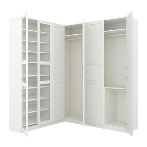 pax garderobeskap hj rnel sning 210 188x236 cm ikea. Black Bedroom Furniture Sets. Home Design Ideas