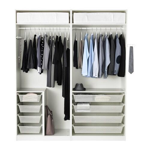 pax garderobeskap 200x58x236 cm ikea. Black Bedroom Furniture Sets. Home Design Ideas