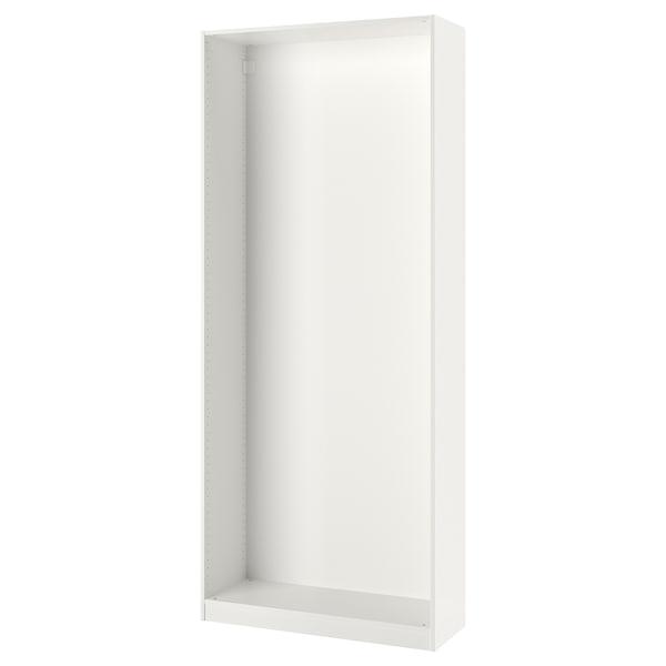 PAX garderobeskapstamme hvit 99.8 cm 100 cm 35.5 cm 236.4 cm 35 cm 236 cm