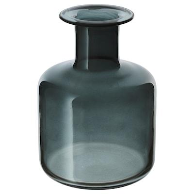 PEPPARKORN Vase, grå, 17 cm