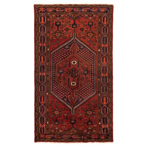 PERSISK HAMADAN teppe, kort lugg håndlaget blandede mønstre 200 cm 140 cm 2.80 m² 3500 g/m² 10 mm 12 mm 7 mm 300 stk.