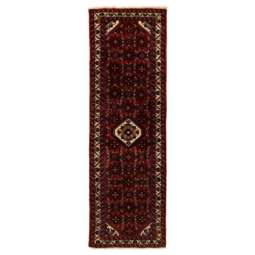 PERSISK HAMADAN teppe, kort lugg håndlaget blandede mønstre 200 cm 80 cm 1.60 m² 3500 g/m² 10 mm 12 mm 7 mm 300 stk.