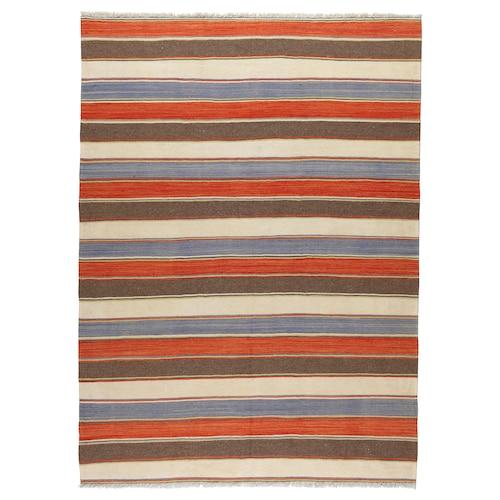 PERSISK KELIM GASHGAI teppe, flatvevd håndlaget blandede mønstre 250 cm 170 cm 4.25 m²