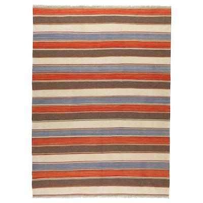 PERSISK KELIM GASHGAI Teppe, flatvevd, håndlaget blandede mønstre, 170x250 cm