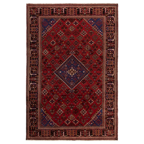 PERSISK MIX teppe, kort lugg håndlaget 300 cm 200 cm 6.00 m² 3500 g/m² 10 mm 12 mm 7 mm 300 stk.