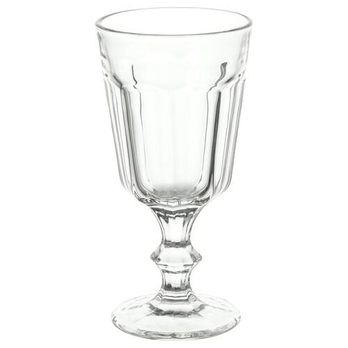 POKAL vinglass klart glass 16 cm 20 cl