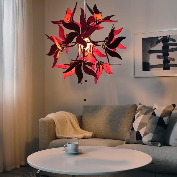 rød lampe ikea