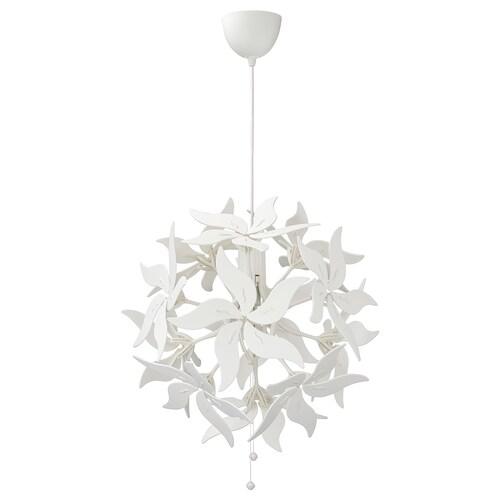 RAMSELE taklampe blomst/hvit 16 W 62 cm 43 cm 1.4 m
