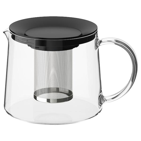RIKLIG Tekanne, glass, 1.5 l