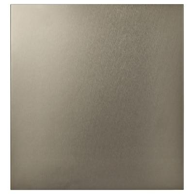 RIKSVIKEN Dør, lys bronseeffekt, 60x64 cm