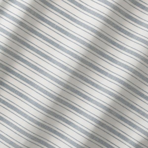 RINGBLOMMA Liftgardin, hvit/blå, 120x160 cm